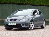 2010 SEAT LEON 2.0 FR CR TDI 5d 168 BHP £5670.00
