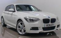 2014 BMW 1 SERIES 2.0 120D M SPORT 5d 181 BHP £14990.00