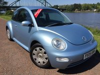 USED 2005 05 VOLKSWAGEN BEETLE 1.6 8V 3d 101 BHP **UNWANTED PART EXCHANGE**SOLD AS SEEN**