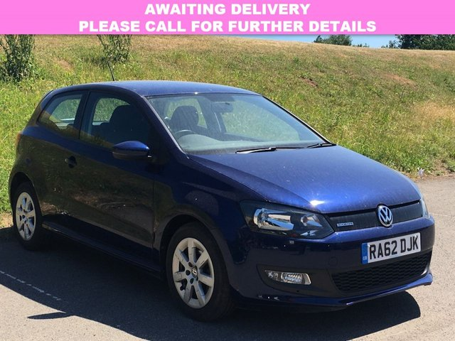 View our 2013 62 VOLKSWAGEN POLO 1.2 BLUEMOTION TDI 3d 74 BHP