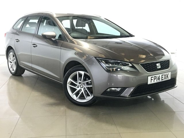 View our 2014 14 SEAT LEON 1.6 TDI SE TECHNOLOGY 5d 105 BHP