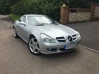 USED 2004 04 MERCEDES-BENZ SLK 1.8 SLK200 KOMPRESSOR 2d AUTO 161 BHP PLEASE CALL TO VIEW