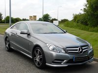 USED 2012 61 MERCEDES-BENZ E CLASS 2.1 E220 CDI BLUEEFFICIENCY SPORT ED125 2d AUTO 170 BHP SAT NAV, HEATED LEATHER, XENON