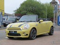 2009 MINI CONVERTIBLE 1.6 COOPER 2d  £SOLD