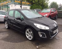 2013 PEUGEOT 308 1.6 ALLURE NAVIGATION VERSION 5d 120 BHP £6499.00