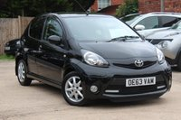 USED 2014 63 TOYOTA AYGO 1.0 VVT-I MODE AC 5d 68 BHP **** ZERO ROAD TAX * PARKING SENSORS ( REAR ) * AIR CON ****