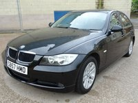 USED 2007 57 BMW 3 SERIES 2.0 318I SE 4d 128 BHP SERVICE RECORD +  PARKING SENSORS +   CLIMATE CONTROL +  ALLOY WHEELS +