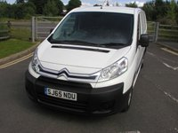 2015 CITROEN DISPATCH 2.0 1200 L2H1 ENTERPRISE HDI 126 BHP LWB VAN £9495.00