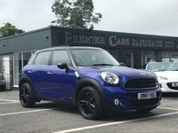 2015 MINI COUNTRYMAN 1.6 COOPER D BUSINESS 5d 110 BHP £12990.00