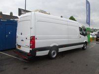 2015 VOLKSWAGEN CRAFTER 2.0 TDI, CR35 BLUEMOTION, LWB H/R, CRUISE, BLUETOOTH, ELEC WINDOWS, 1 OWNER, F.S.H £SOLD