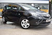 USED 2013 63 VAUXHALL ZAFIRA TOURER 2.0 EXCLUSIV CDTI 5d 162 BHP THE CAR FINANCE SPECIALIST