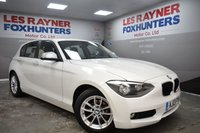 2013 BMW 1 SERIES 1.6 116D EFFICIENTDYNAMICS 5d 114 BHP £7799.00