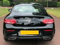 USED 2016 16 MERCEDES-BENZ C-CLASS 2.0 C200 AMG Line 7G-Tronic Plus (s/s) 2dr LOW MILES+REAR CAMERA+SAT NAV
