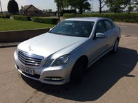USED 2010 60 MERCEDES-BENZ E CLASS 2.1 E250 CDI BLUEEFFICIENCY AVANTGARDE 4d AUTO 204 BHP