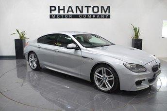 2014 BMW 6 SERIES 3.0 640D M SPORT GRAN COUPE 4d AUTO 309 BHP £23290.00