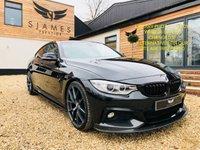 2015 BMW 4 SERIES 3.0 435I M SPORT GRAN COUPE 4d AUTO 302 BHP £24990.00