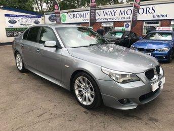 2006 BMW 5 SERIES 2.0 520D M SPORT 4d 161 BHP £4995.00