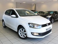 2014 VOLKSWAGEN POLO 1.2 60 BHP MATCH EDITION 5d £6985.00
