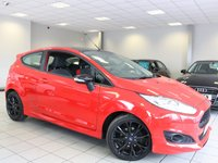 2015 FORD FIESTA 1.0 ECO BOOST 140 BHP ZETEC S RED EDITION 3d £9285.00