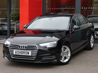 USED 2016 16 AUDI A4 2.0 TDI ULTRA SPORT 4d 190 S/S NEW SHAPE, UPGRADE FUEL TANK WITH 24 LITRE INCREASE IN SIZE, SAT NAV, DAB RADIO, CRUISE CONTROL WITH SPEED LIMITER, LED DAYTIME RUNNING LIGHTS, BLUETOOTH PHONE & MUSIC STREAMING, REAR PARKING SENSORS, LEATHER MULTIFUNCTION STEERING WHEEL, LIGHT & RAIN SENSORS, AUDI DRIVE SELECT, FRONT & REAR ARM RESTS, KEYLESS START, AUDI CONNECT, WIRELESS LAN (WLAN), AUX INPUT, 2x USB PORTS, CD WITH 2x SD CARD READERS & SIM CARD READER, 1 OWNER FROM NEW, FULL AUDI HISTORY, BALANCE OF AUDI WARRANTY, £20 ROAD TAX