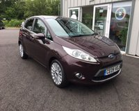 USED 2009 09 FORD FIESTA 1.4 TITANIUM THIS VEHICLE IS AT SITE 1 - TO VIEW CALL US ON 01903 892224