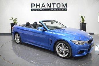2016 BMW 4 SERIES 3.0 430D M SPORT 2d AUTO 255 BHP £24990.00