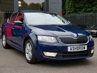 USED 2015 65 SKODA OCTAVIA 1.6 TDI SE BUSINESS GREENLINE III 5d 110 S/S £0 TAX, 1 OWNER, FULL SKODA HISTORY, NAV, DAB, BLUETOOTH W/ AUDIO STREAMING, CRUISE, AUX + USB, PARKPILOT FRONT + REAR PARKING SENSORS W/ DISPLAY, PARK ASSIST AUTOMATED PARKING, VOICE COMMAND, DRIVING MODE SELECTION, TYRE PRESSURE MONITORING SYSTEM, LEATHER MULTI FUNCTION STEERING WHEEL, ELECTRICALLY ADJUSTABLE HEATED DOOR MIRRORS, DIS TRIP COMPUTER W/ DIGI SPEED DISPLAY, VOICE COMMAND, DUAL ZONE CLIMATE A/C, SD READER X2, HALOGEN DRLS, FRONT FOGS, DRIVER ALERT SYSTEM, VAT Q
