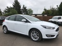 2015 FORD FOCUS 1.5 TDCI ZETEC  5dr  WITH SAT NAV, ALLOY WHEELS AND AIRCON £7500.00