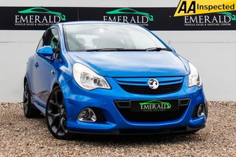 2011 VAUXHALL CORSA 1.6 VXR 3d 189 BHP £6300.00
