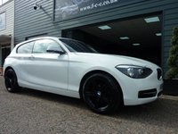 2014 BMW 1 SERIES 2.0 116D SPORT 3d 114 BHP £10995.00