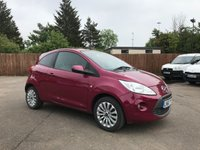 USED 2010 60 FORD KA 1.2 ZETEC 3d  LOW MILEAGE AND LOW TAX NO DEPOSIT FINANCE ARRANGED, APPLY HERE NOW