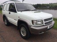 2001 ISUZU TROOPER 3.0 3.0 SWB TD 1d 157 BHP £3200.00