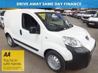 """USED 2013 63 PEUGEOT BIPPER 1.2 HDI S 75 BHP-VERY LOW MILEAGE-VERY ECONOMICAL  """"YOU'RE IN SAFE HANDS"""" - AA DEALER PROMISE"""