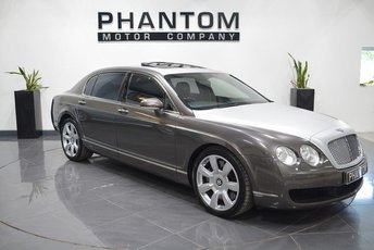 2005 BENTLEY CONTINENTAL FLYING SPUR 6.0 FLYING SPUR 5 SEATS 4d AUTO 550 BHP £22990.00