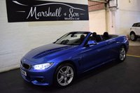 USED 2015 15 BMW 4 SERIES 3.0 435D XDRIVE M SPORT 2d AUTO 309 BHP CONVERTIBLE