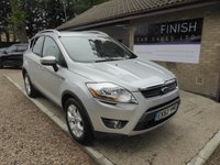 USED 2012 62 FORD KUGA 2.0 ZETEC TDCI 2WD 5d 138 BHP PARKING SENSORS, PRIVACY GLASS, AUX CONNECTION, 12 MONTHS MOT