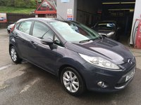 USED 2011 11 FORD FIESTA 1.4 ZETEC TDCI 5d 69 BHP ROAD TAX £20, EXCELLENT MPG, BLUETOOTH WITH USB