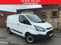 USED 2015 15 FORD TRANSIT CUSTOM 2.2 270 LR P/V 1d 125 BHP 125 BHP, Air Con, One Owner, Only 50,000 Miles.