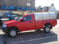 "USED 2013 13 MITSUBISHI L200 2.5 DI-D 4X4 4WORK S/C 1d 134 BHP 1 OWNER FROM NEW, 52000 MILES, F.S.H, ""NO VAT"""