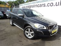USED 2013 13 VOLVO XC60 2.0 D4 R-DESIGN 5d 161 BHP One Owner Full Service History+Leather