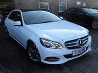 USED 2015 15 MERCEDES-BENZ E CLASS 2.1 E220 BLUETEC SE PREMIUM PLUS 4d AUTO 174 BHP VAT QUALIFYING EURO 6 ANY PART EXCHANGE WELCOME, COUNTRY WIDE DELIVERY ARRANGED, HUGE SPEC
