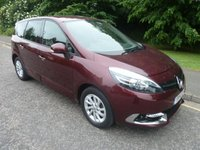 2014 RENAULT GRAND SCENIC 1.5 DYNAMIQUE TOMTOM ENERGY DCI S/S 5d 110 BHP £10000.00