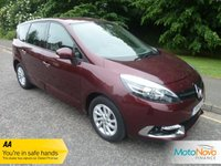 USED 2014 14 RENAULT GRAND SCENIC 1.5 DYNAMIQUE TOMTOM ENERGY DCI S/S 5d 110 BHP Fantastic Low Mileage Renault Grand Scenic with Satellite Navigation, Half Leather Seats, Seven Seats, Climate Control, Cruise Control, Alloy Wheels and Service History