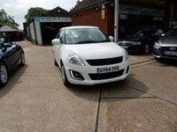 2014 SUZUKI SWIFT 1.2 SZ2 3d 94 BHP £4990.00