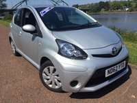 USED 2013 62 TOYOTA AYGO 1.0 VVT-I ICE 5d 68 BHP ***AIR CON***