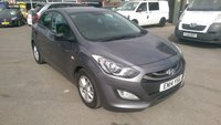 2014 HYUNDAI I30 1.4 ACTIVE 5 DOOR 98 BHP IN METALLIC GREY WITH FULL SERVICE HISTORY £5999.00