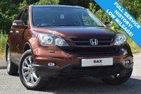 2011 HONDA CR-V 2.0 I-VTEC ES 5d AUTO 148 BHP £10490.00