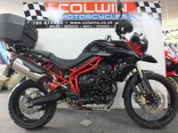 USED 2014 64 TRIUMPH TIGER 800cc TIGER 800 XC ABS  ONE OWNER, ONLY 70 MILES!!!!