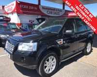 USED 2008 08 LAND ROVER FREELANDER 2.2 TD4 SE 5d 159 BHP HALF LEATHER, AUTO, SAT NAV