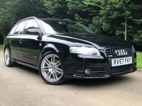 2007 AUDI A4 2.0 TDI S LINE SPECIAL EDITION 5d 170 BHP £5490.00